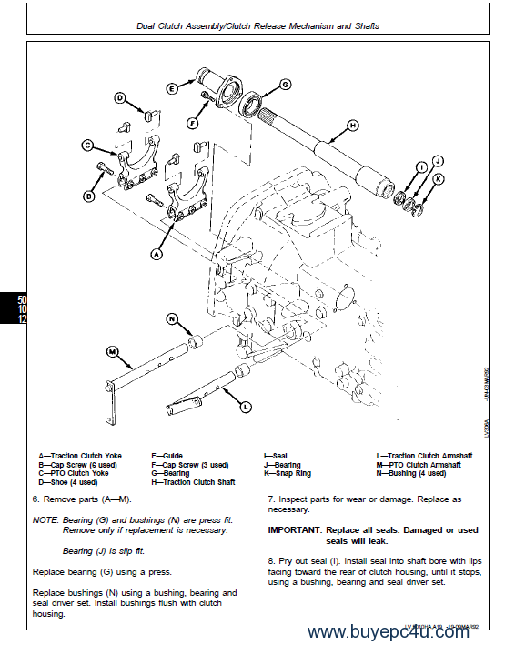 john deere tractors tm pdf the image of john deere 5200 5300 5400 tractors technical manual tm1520 pdf workshop