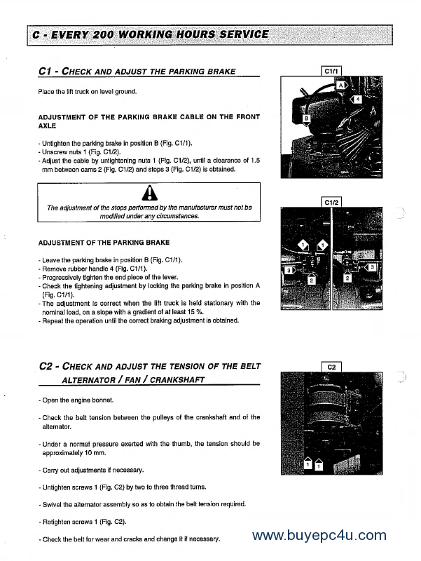 Collection Of Manitou Forklift Pdf Manuals