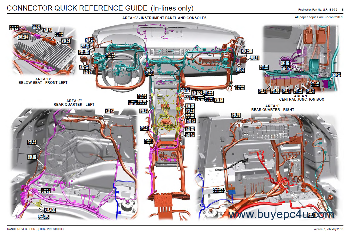 [FPWZ_2684]  Land Rover/Range Rover Sport L494 Repair Manual and Diagrams PDF | 2015 Range Rover Sport Wiring Diagram |  | BuyEpc4u