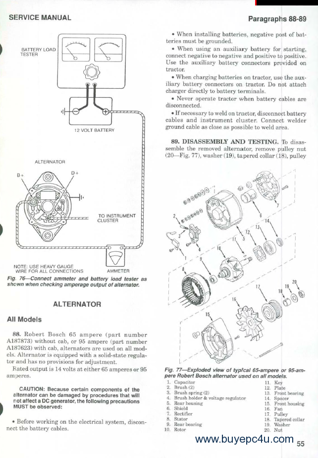 case-ih-5120-5130-5140-tractors-shop-service-repair-manual-pdf Ac Wd Wiring Diagram on