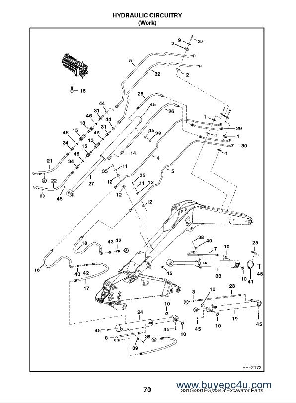 bobcat 320 mini excavator manual