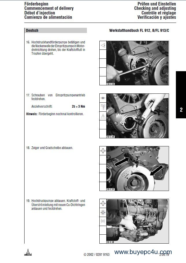 deutz engines 912 913 workshop manual pdf rh buyepc4u com Deutz Diesel Engine Service Manuals Deutz -Fahr Manual