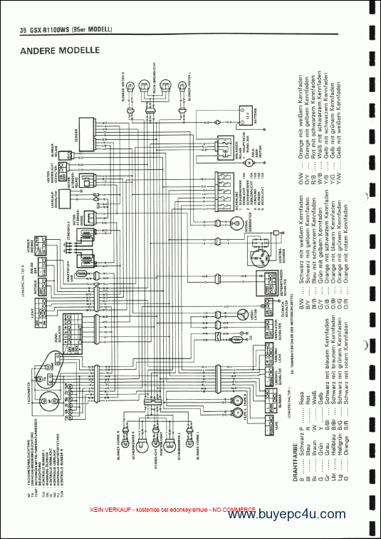 1998 suzuki bandit 600 wiring diagram wire data schema u2022 rh lemise co
