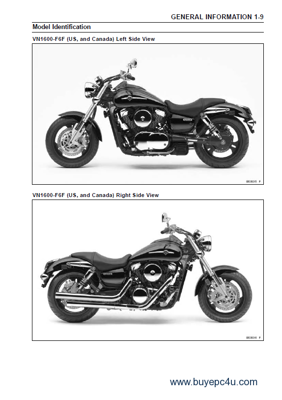 kawasaki vulcan1600 vn1600 mean streak motorcycle pdf. Black Bedroom Furniture Sets. Home Design Ideas