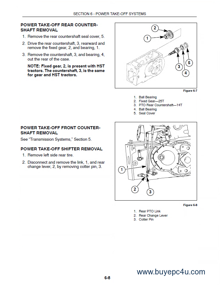New Holland Tc33 Tc33d Tractor Service Manual Pdf
