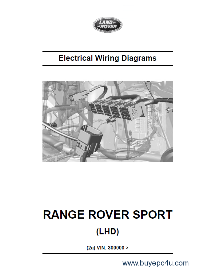 land rover/range rover sport l494 repair manual and diagrams pdf