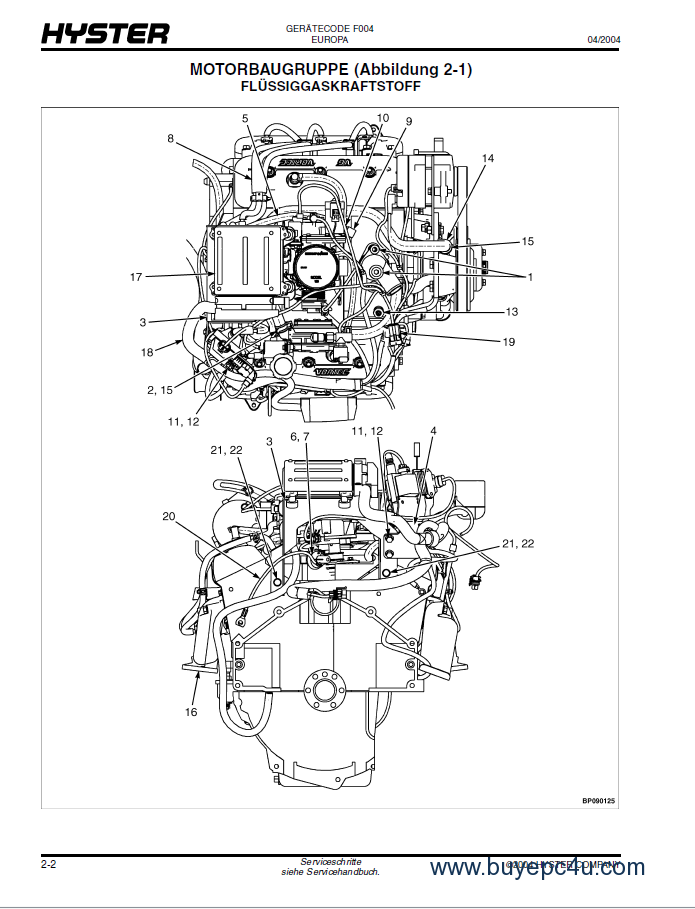 Hyster s50xl parts Manual