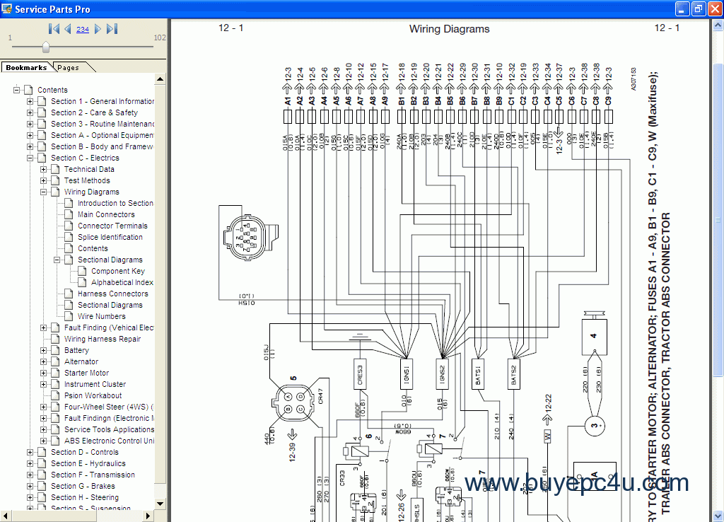 Jcb compact Service Manual on