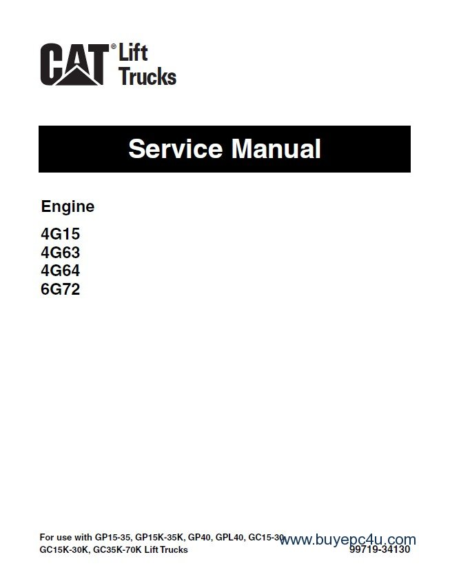 caterpillar gp15 wiring schematic caterpillar auto wiring caterpillar 4g15 4g63 4g64 6g72 engine service manual pdf on caterpillar gp15 wiring schematic