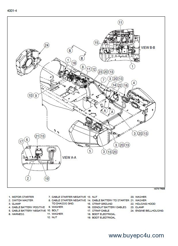 new holland w270b wheel loader service manual pdf