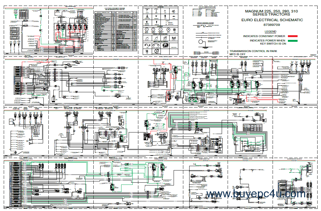 case ih mx210 mx230 mx255 mx285 magnum tractor workshop manual service 7110 case ih wiring diagrams online ford wiring diagrams online MX210 Computer at gsmportal.co