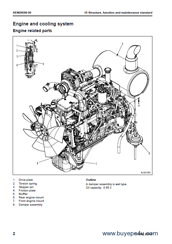 Illustrated Parts List Excavator Digger Manual 55001 v Obedient Kubota Kx 41-2s