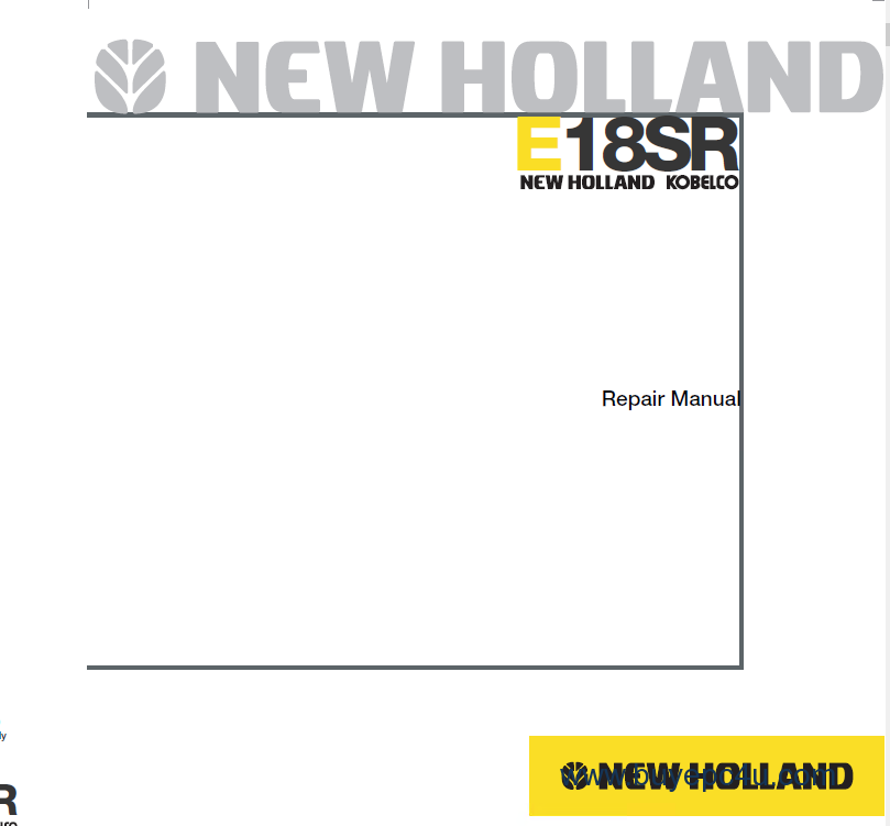 new holland e18sr mini excavator workshop manual pdf new holland tc40 wiring diagram new holland tc45 wiring diagram new holland wiring diagram at sewacar.co