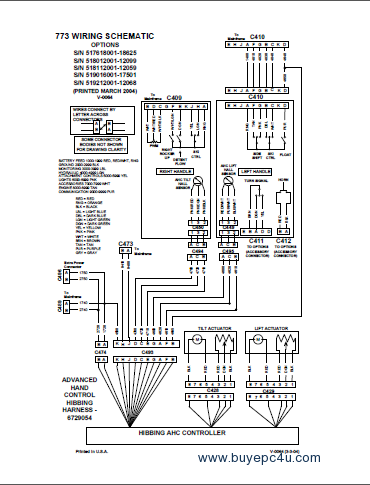 bobcat 773 773 hf 773 turbo bobcat 773 wiring diagram bobcat 773 wiring schematic \u2022 free bobcat wiring harness at gsmportal.co