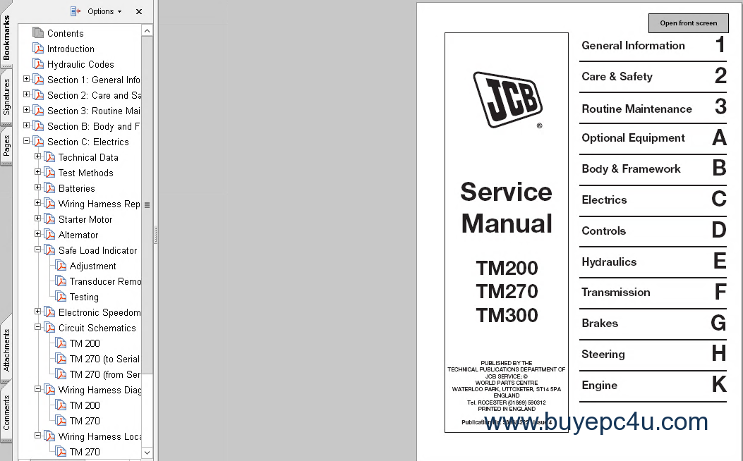 JCB Telehandler TM200 TM270 TM300 TM310 Service Manual on basic gm alternator wiring, jeep alternator wiring, volvo alternator wiring, freightliner alternator wiring, yanmar alternator wiring, new holland alternator wiring, clark alternator wiring, detroit diesel alternator wiring, honda alternator wiring, landini alternator wiring, mustang alternator wiring, subaru alternator wiring, international alternator wiring, mando alternator wiring, mercedes alternator wiring, delta alternator wiring, gmc alternator wiring, caterpillar alternator wiring, deutz alternator wiring, mack alternator wiring,