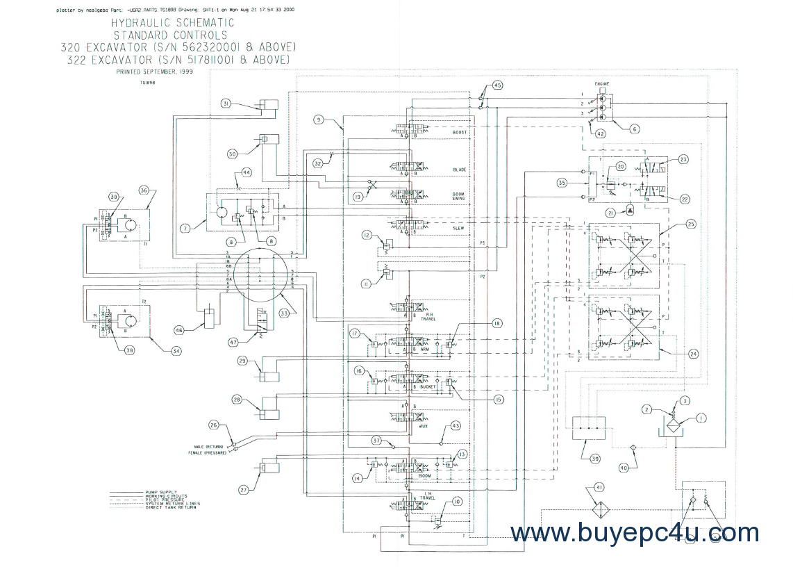 Excavator Repair Manual Kobelco Sk400 Iii Schematic With This Factory Service On Hand Can Easily Help You Instant Download Model Sk595 7 Sk555 Hydraulic