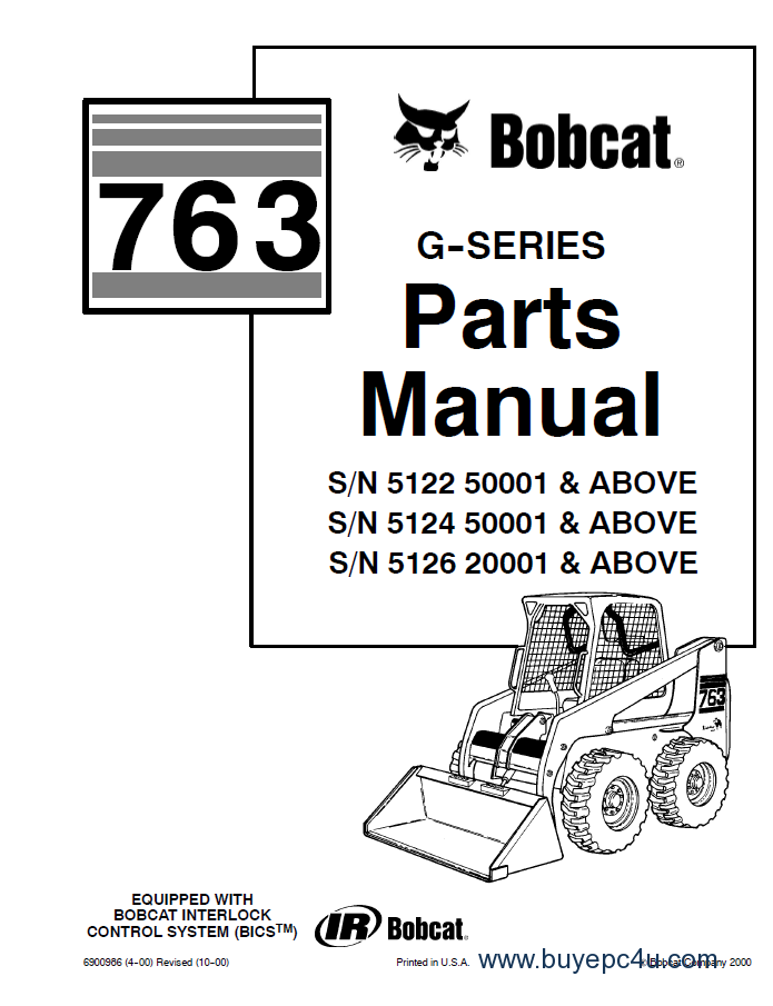 bobcat 763 763 hf g series bobcat 763 763hf (g series) parts manual pdf bobcat 763 wiring diagram free at n-0.co