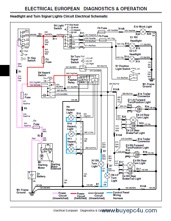 John Deere 100 Series Wiring Diagram Periodic Tables – John Deere Wiring Harness Diagram