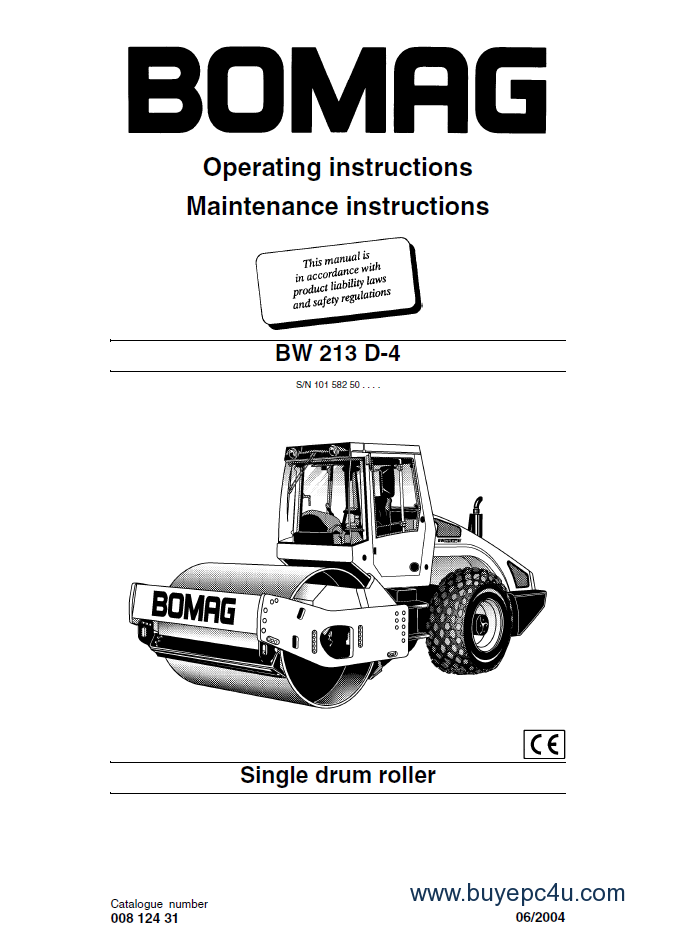 bomag bw213 d 4 single drum roller operating maintenance instructions pdf bomag roller manual 28 images bomag bw213 d 4 single drum bomag bw-90 wiring diagram at bayanpartner.co