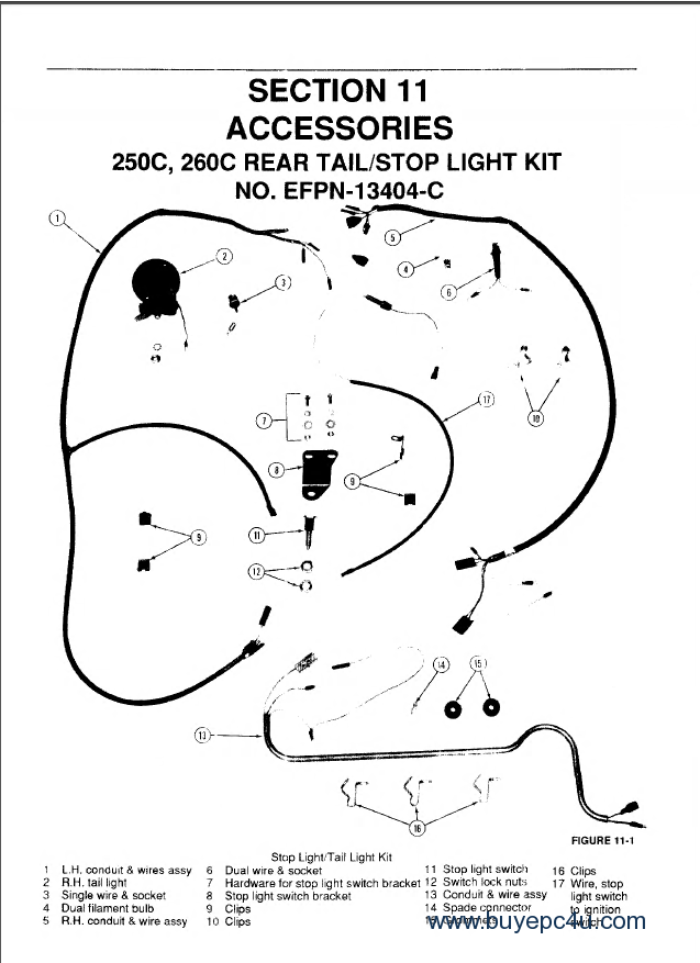 New Holland Ford 345D 445D 545D 250C 260C Tractor PDF