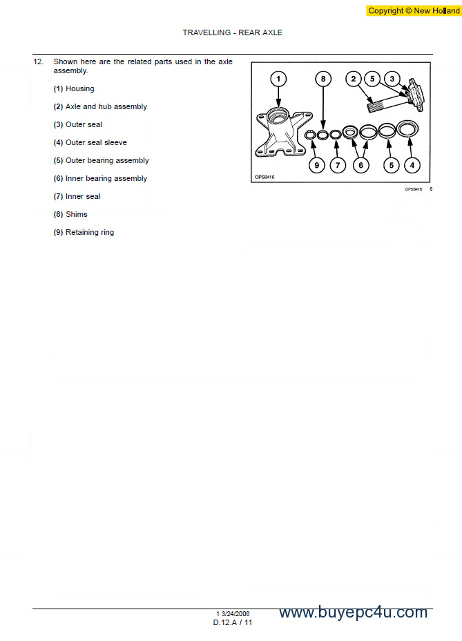 new holland ls170 service manual download