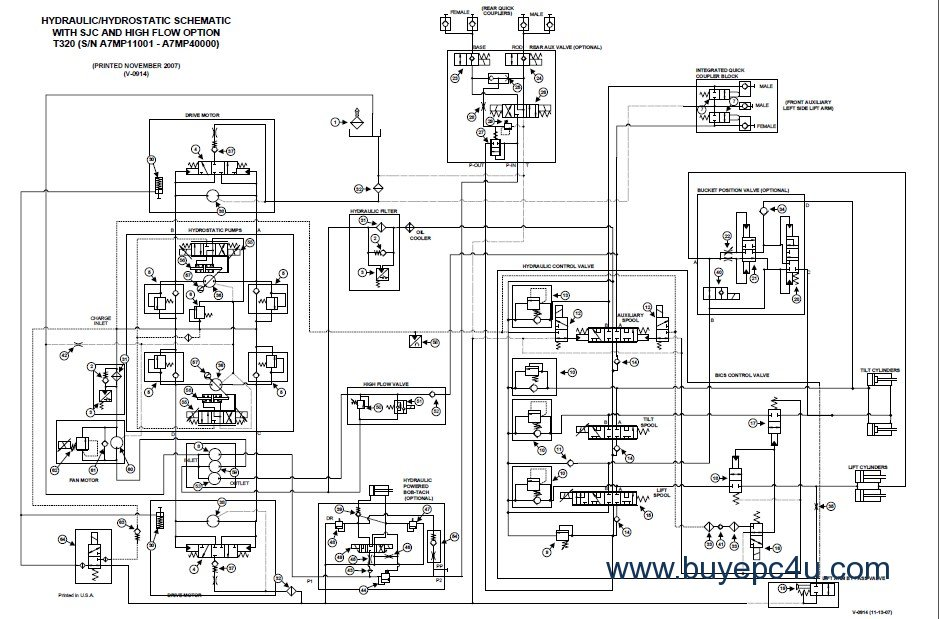 bobcat t320 wiring diagram schematics wiring diagrams \u2022 bobcat skid steer weight kit bobcat t320 wiring diagram