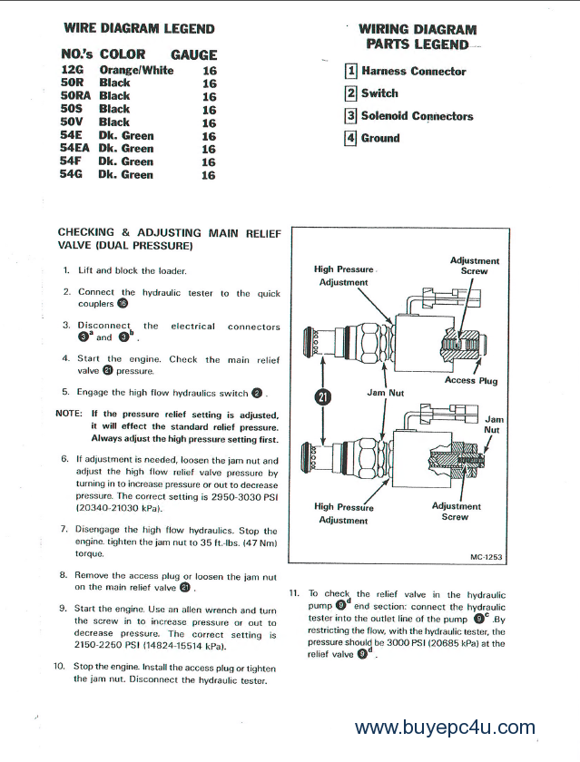 bobcat 843 843b service manual pdf rh buyepc4u com Bobcat Skid Steer Electrical Diagrams Bobcat Loader Parts Diagram