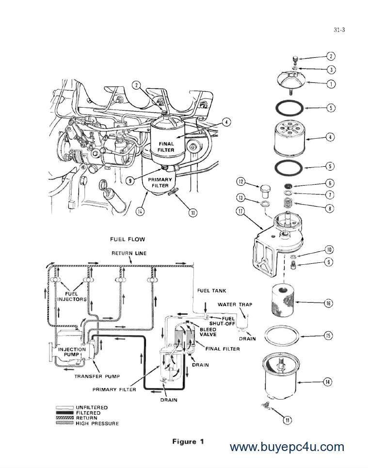 case 580b parts diagram