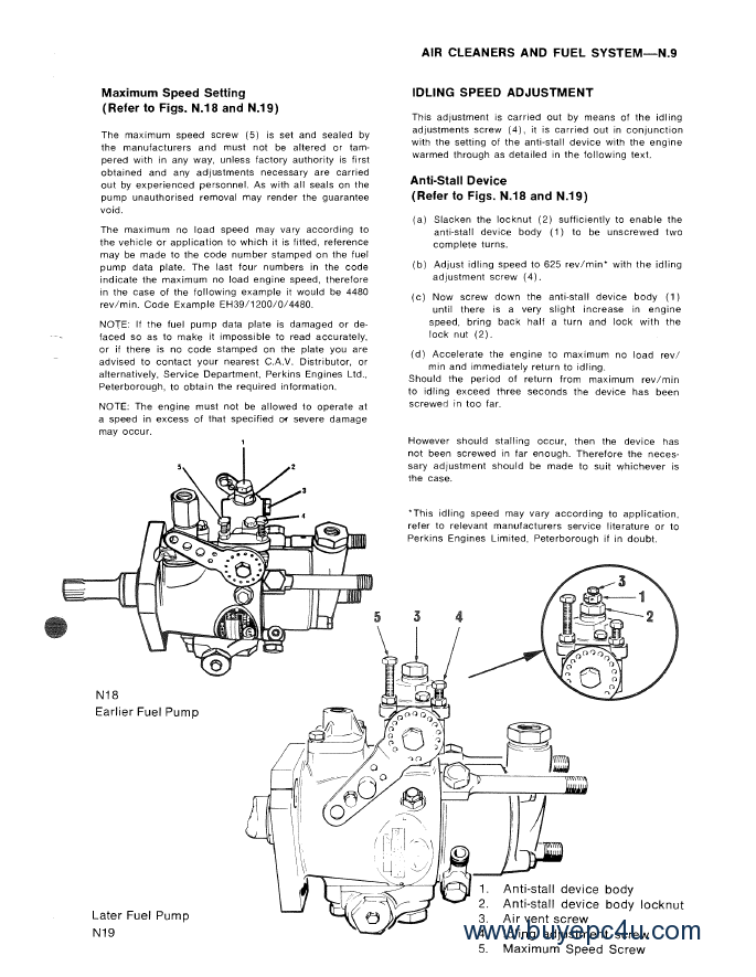 Perkins 4 108 Series Engines Workshop Parts Manuals Pdf