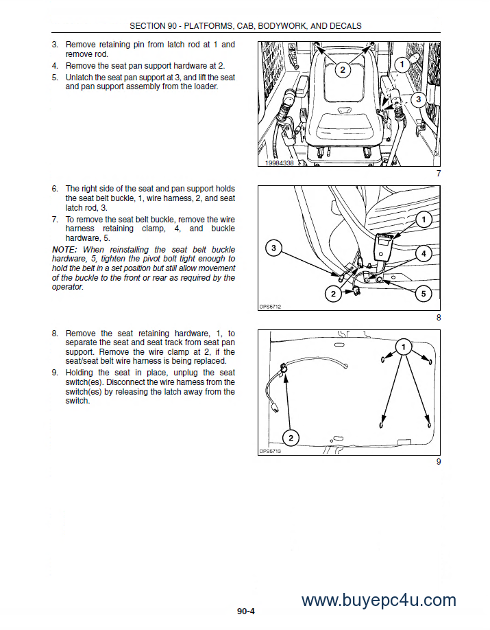 new holland l175 c175 skid steer and track loader pdf the screenshot of the new holland workshop repair manual 7