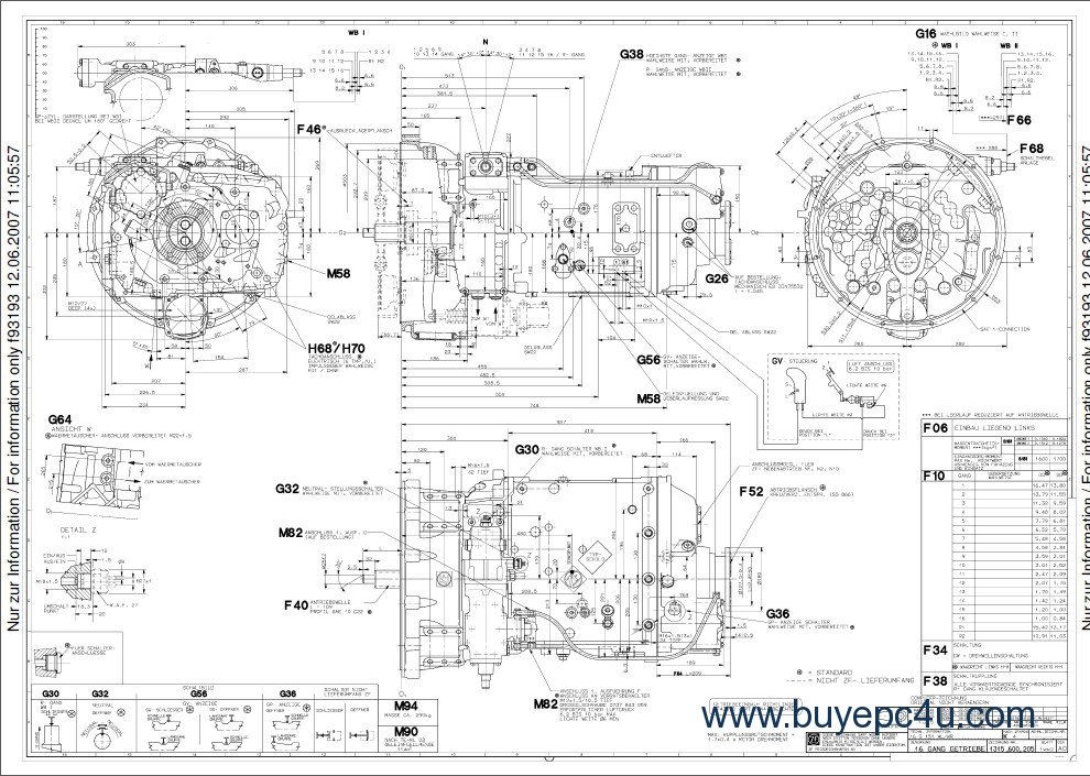 ford festiva automatic transmission parts diagrams