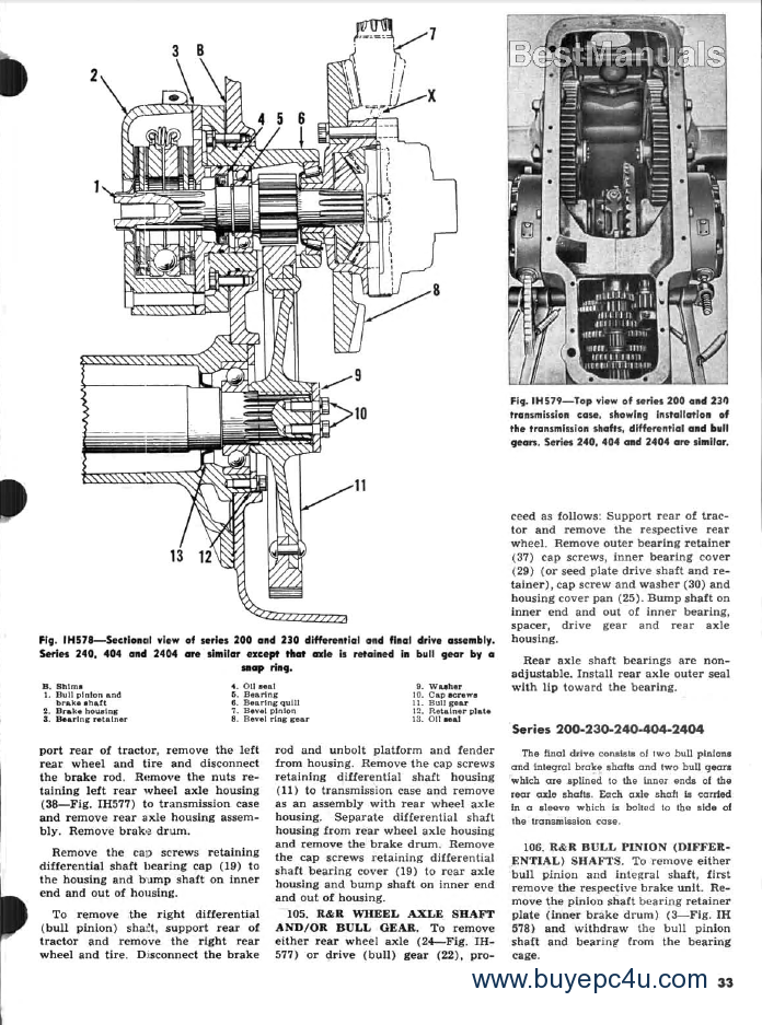 Contemporary Ih Cub Wiring Diagram Picture Collection - Electrical ...