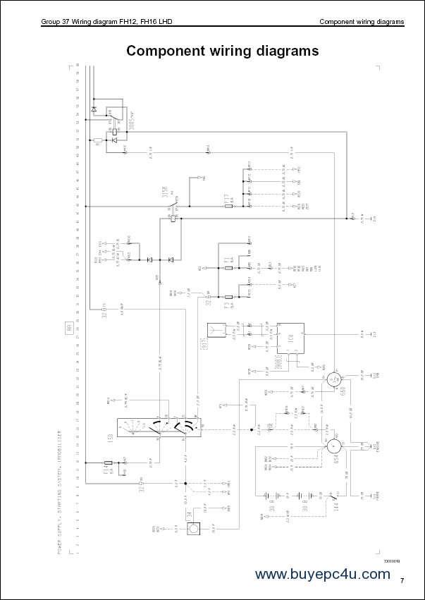 volvo wiring diagrams fl6 hino radio wiring diagram vehicle wiring diagrams
