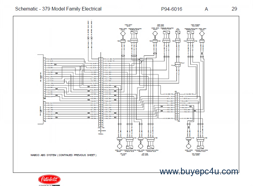 1987 peterbilt 359 wiring diagram pictures to pin on