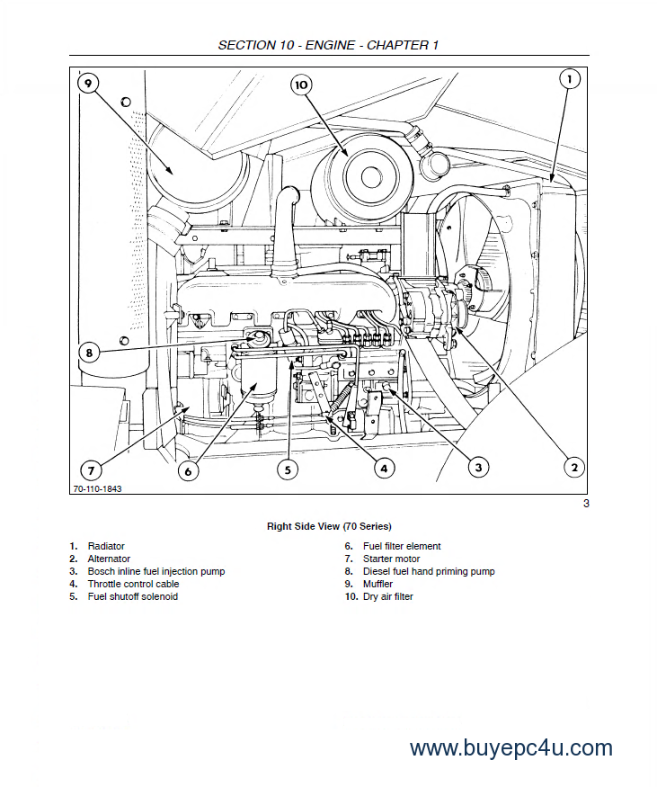 new holland 8670 8770 8870 8970 tractor repair manual pdf