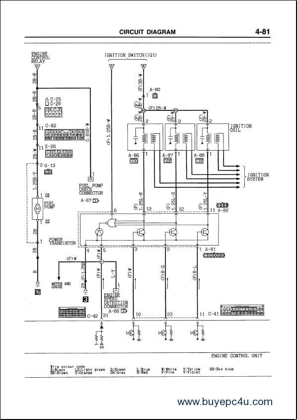 mitsubishi l200 central locking wiring diagram   46 wiring