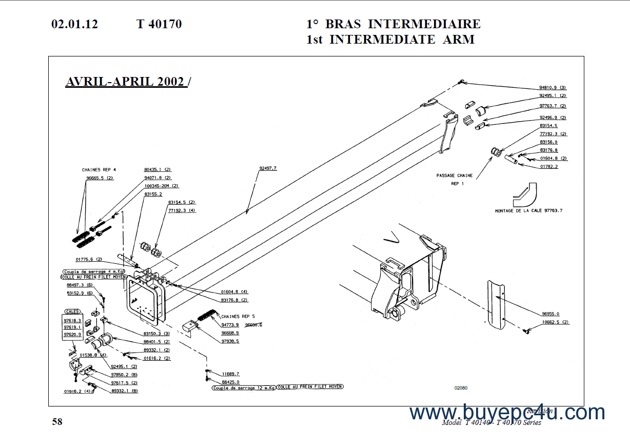 the image of bobcat telescopic handlers t-series parts manuals pdf  spare parts catalogue