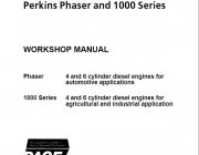 Perkins Phaser, 1000 Series Diesel Engines Workshop Manual PDF