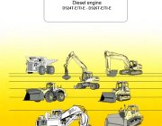 Liebherr Diesel Engine D924T-E/TI-E - D926T-E/TI-E Operating Manual PDF