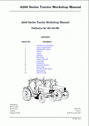 Massey Ferguson Repair Manuals NA