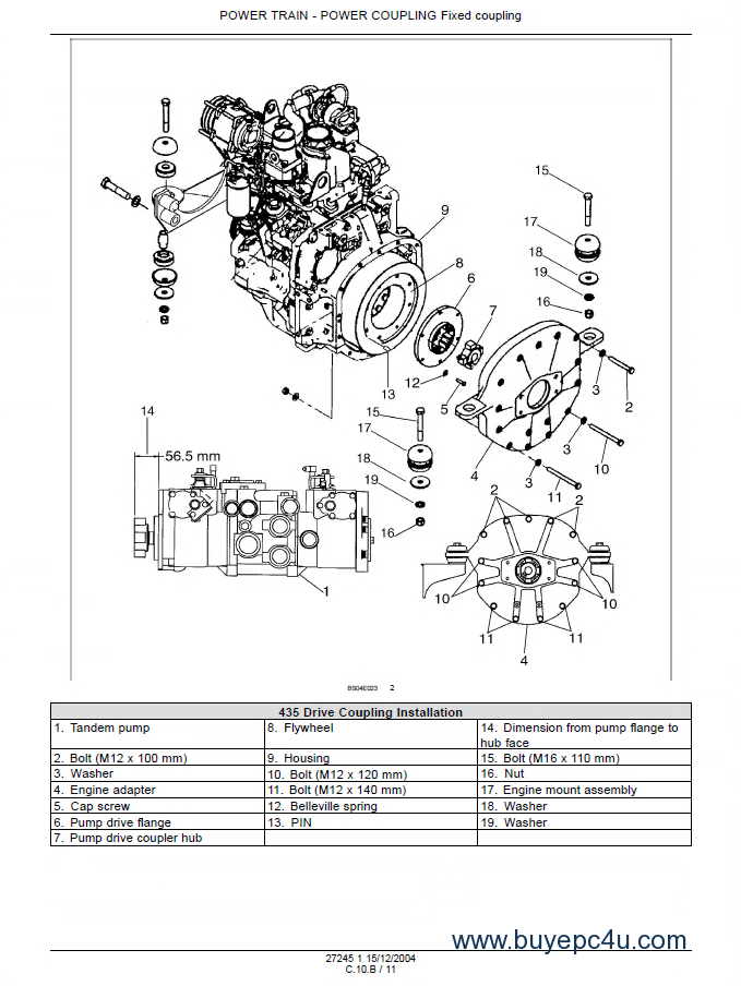 Case 435  445 Skid Steer Tier Ii Engine Repair Manual Pdf