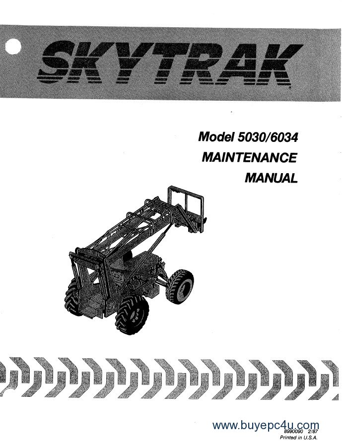 jlg skytrak telehandlers 5030 6034 maintenance manual pdf jlg skytrak wiring diagrams wiring diagrams SkyTrak 5028 Weight at gsmx.co