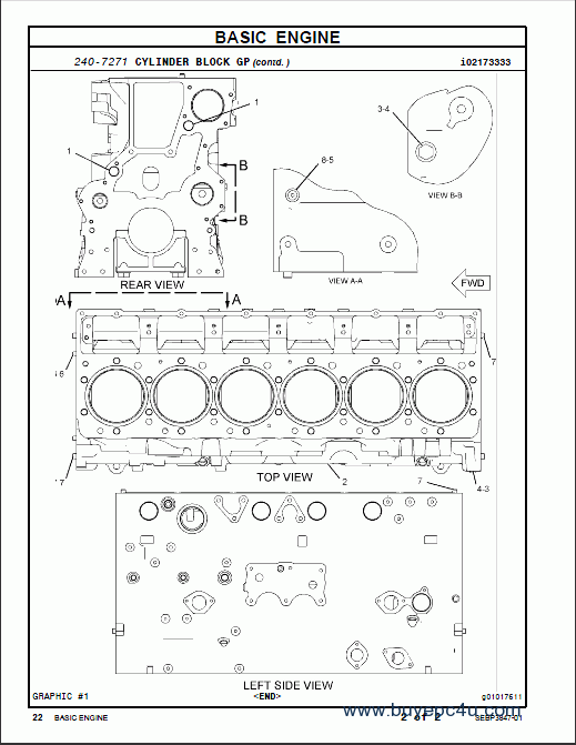 Caterpillar 966h Wheel Loader Parts Manual Pdf