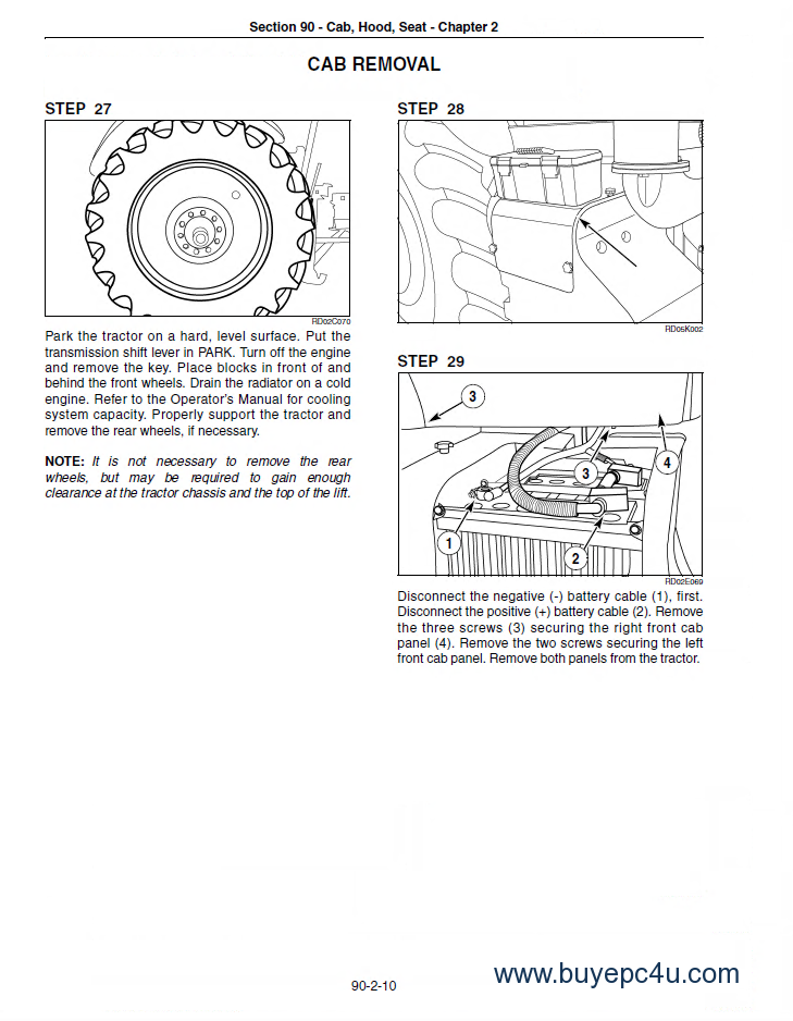 New Holland Tractor Manuals : New holland t service manual pdf