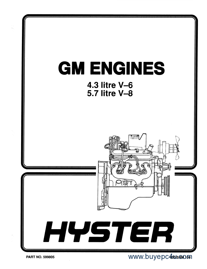 hyster challenger h135xl h155xl forklift service + parts manuals pdf