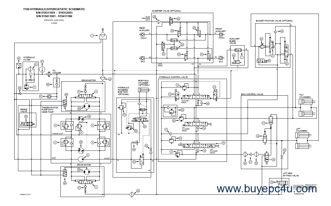 [SCHEMATICS_4JK]  DIAGRAM] Bobcat T190 Hydraulic Diagram FULL Version HD Quality Hydraulic  Diagram - B6500FUSER1294.SWEVAT.IT | 2013 Bobcat T190 Wiring Diagram |  | Swevat