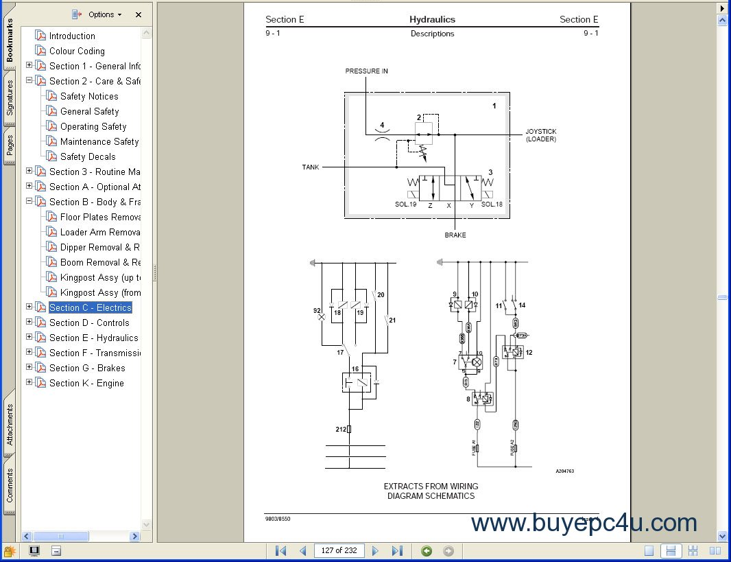 Jcb 214 Starter Wiring Diagram | Wiring Liry Jcb Starter Wiring Diagram on
