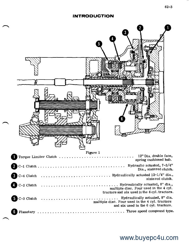 Jeep Transmission Borg Warner T4 T5 Parts also 2000 Ford Ranger Steering Shaft Diagram as well 1992 Ford Ranger Wiring Diagram likewise Ford Tractor Transmission Parts also Case 970 1070 Tractors Service Workshop Repair Manual Pdf. on john deere transfer case