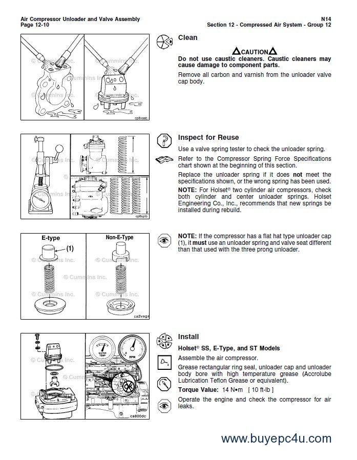 cummins n14 base engine stc celect celect plus pdf