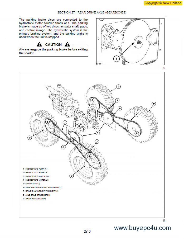 New Holland Ls170 Skid Steer Wiring Diagram